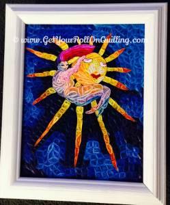 """<a href=""""http://www.getyourrollonquilling.com/portfolio/dream-beam-gallery/""""><b>Dream On A Beam Framed</b></a>"""
